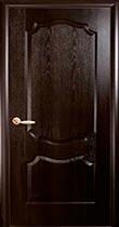 Межкомнатная дверь Вензель каштан глухая