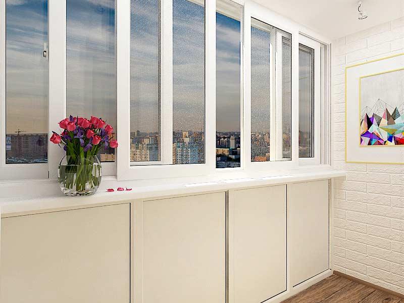 Раздвижные окна sws в одессе - остекление балконов.